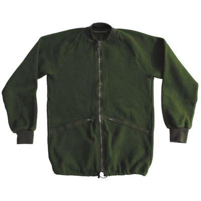 Bunda fleece britská OLIV použitá