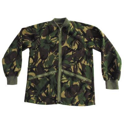Bunda fleece britská DPM TARN použitá