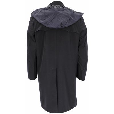Kabát taliansky MARINE dvojradové zapínanie MODRÝ