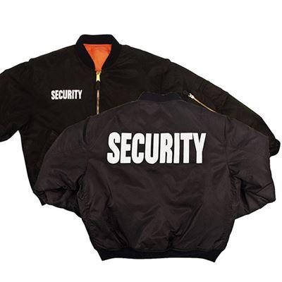Bunda SECURITY MA1 FLIGHT ČIERNA