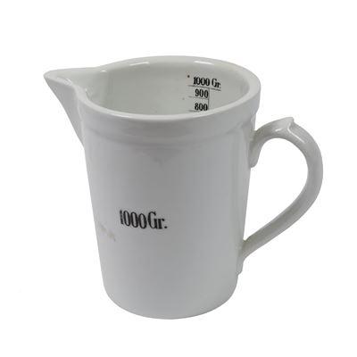 Odmerka porcelánová lekárenská 1000 ml