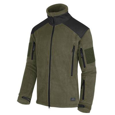 Bunda LIBERTY Heavy fleece OLIV/ČIERNA