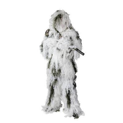 Prevlek maskovací Ghillie SNOW CAMO