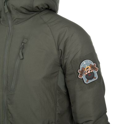Bunda WOLFHOUND s kapucňou ALPHA GREEN