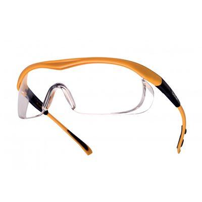 Okuliare ochranné TARGA ORANŽOVÉ