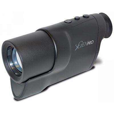 Nočné videnie XGEN PRO 3-6x monokulár ČIERNE